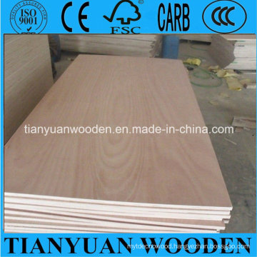 4.0mm BB/CC Grade Okoume Commercial Plywood